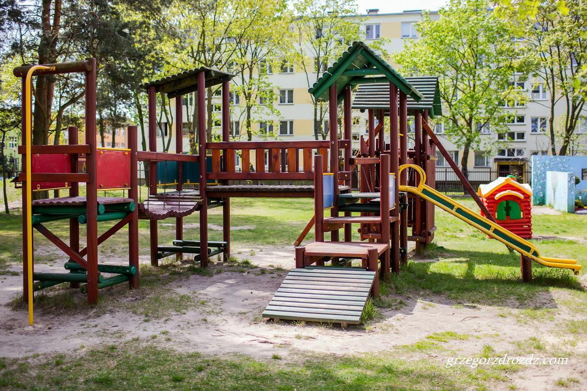 Plac zabaw naszego przedszkola